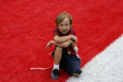 100605 Connor Plays in the Horseshoe!!-11